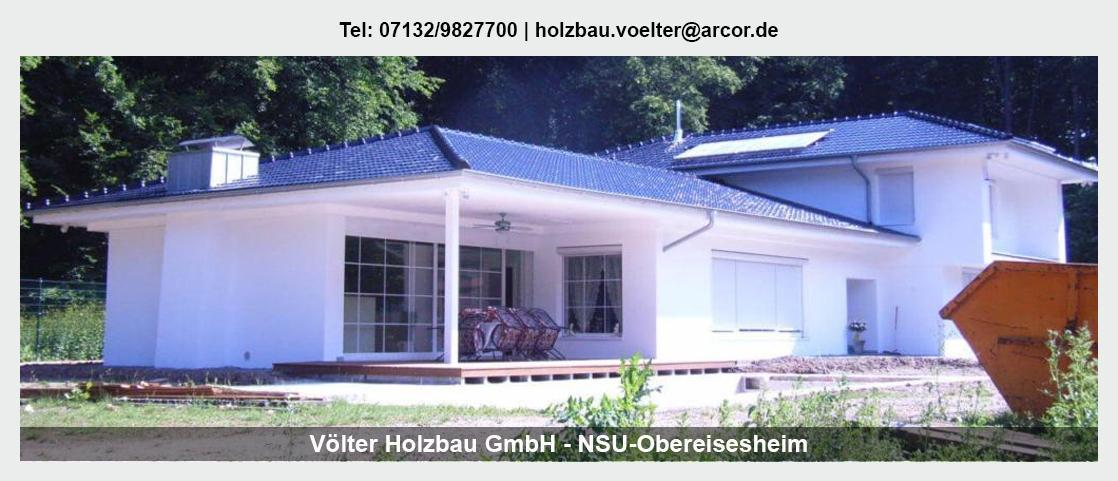 Zimmerei in der Nähe von Neunkirchen - Völter Holzbau: Dachflächenfenster, Dachsanierung, Zimmerarbeiten